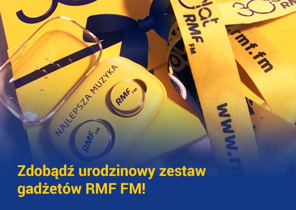 Mamy dla Was urodzinowy zestaw radiowych gadżetów /RMF FM