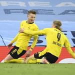 Manchester City - Borussia Dortmund 2-1. Reus klubowym rekordzistą BVB, wyprzedził Lewandowskiego