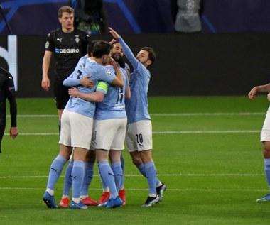 """Manchester City - Borussia Moenchengladbach 2-0 w rewanżu 1/8 finału Ligi Mistrzów. Awans """"Obywateli"""" do ćwierćfinału"""
