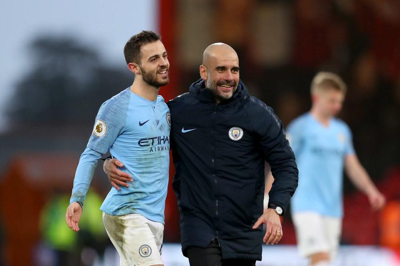 Manchester City jest znowu liderem Premier League /Getty Images