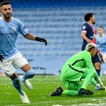 Manchester City - PSG. Riyad Mahrez z golami w obu półfinałach Ligi Mistrzów