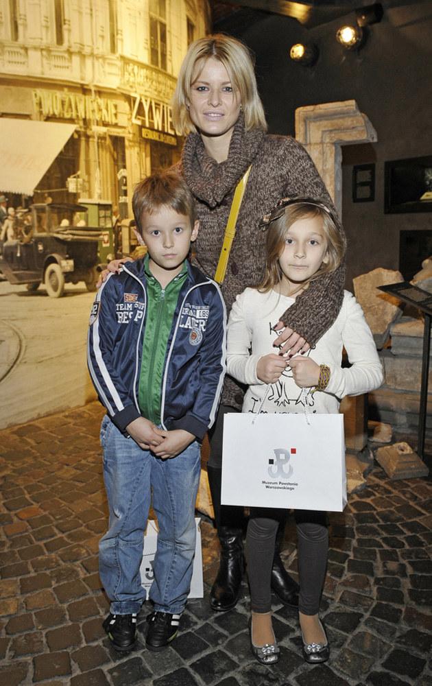 Mandaryna z Xavierem i Fabienne /Niemiec /AKPA