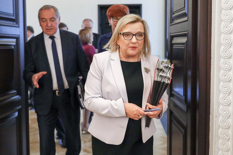 Mandat w PE zdobyła Beata Kempa, minister ds. pomocy humanitarnej /Grzegorz Banaszak /Reporter