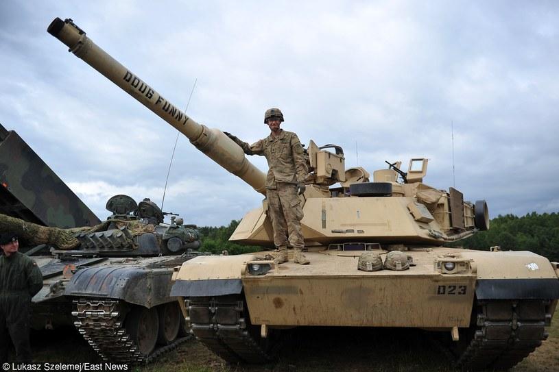 Manewry NATO Saber Strike-15 w Drawsku Pomorskim /Łukasz Szełemej /Reporter