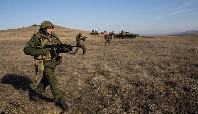 Manewry rosyjskiej armii /AFP