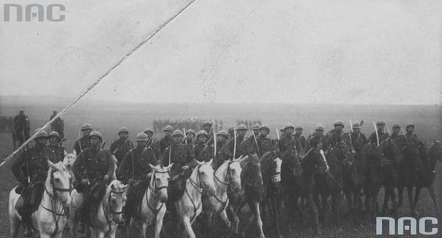 Manewry wojskowe na Wołyniu /Z archiwum Narodowego Archiwum Cyfrowego