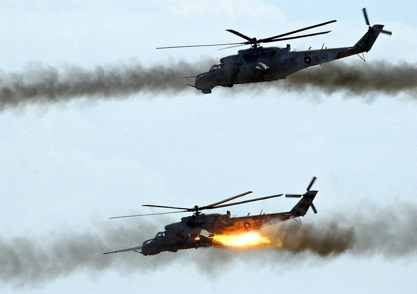 Manewry wojskowe Rosjan /AFP