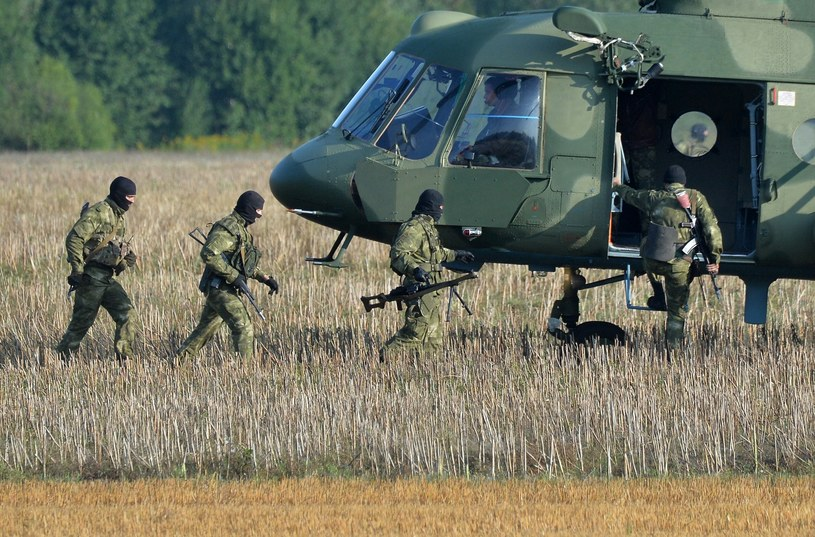 Manewry wojskowe Rosjan. /Viktor Tolochko /East News