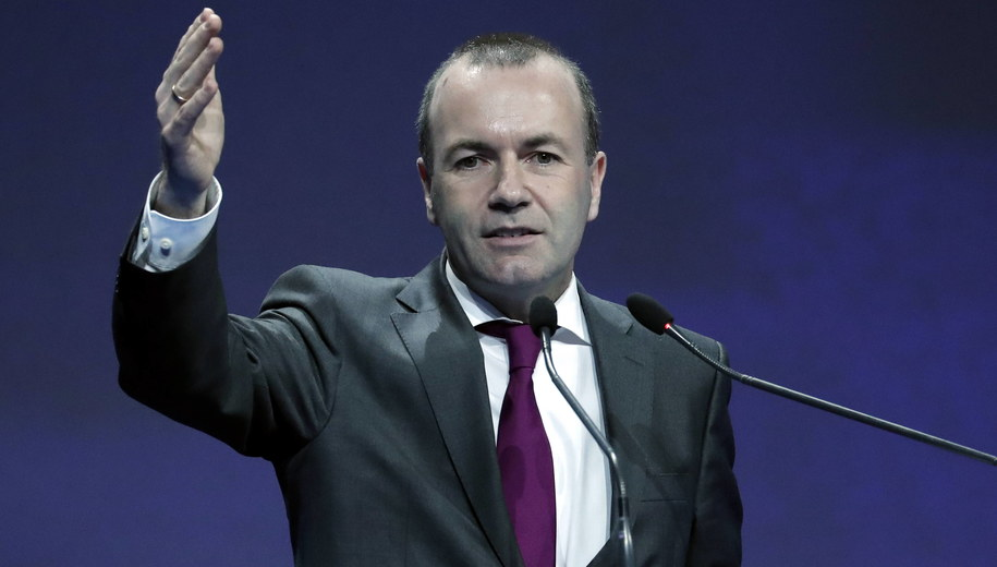 Manfred Weber /ROBERT GHEMENT /PAP/EPA