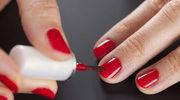 Manicure na sylwestrowy bal