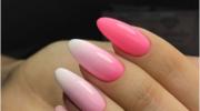 Manicure ombre - nieskończona ilość możliwości