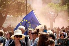 Manifestacja Brytyjczyków przeciwko wyjściu z UE