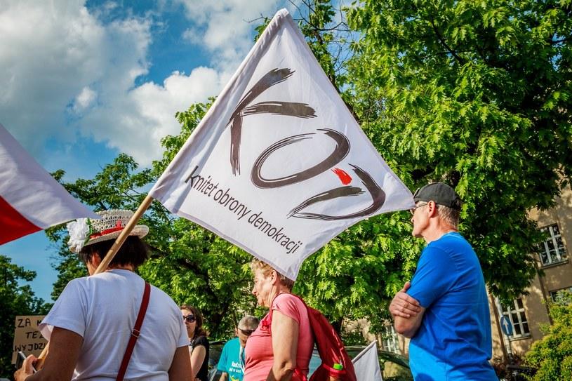 Manifestacja KOD-u /Marcin Jurkiewicz /East News
