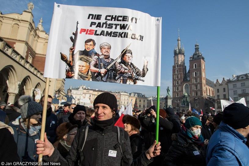 Manifestacja KOD /Jan Graczyński /PAP
