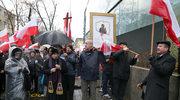 Manifestacja krucjaty różańcowej pod TVP