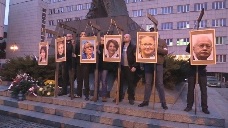 Manifestacja miała miejsce w listopadzie 2017 r. /Polsatnews.pl