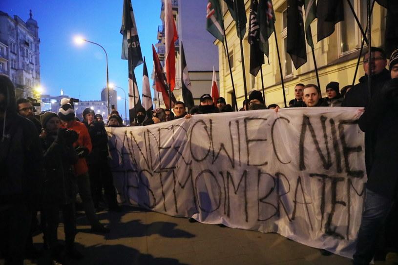 Manifestacja narodowców /Tomasz Gzell   /PAP