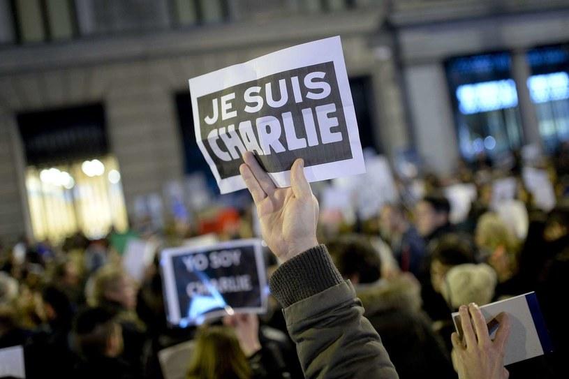 Manifestacja po styczniowych zamachach w Paryżu /AFP