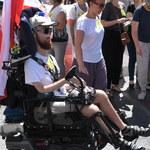 Manifestacja poparcia dla protestujących w Sejmie
