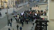 Manifestacja przeciwko ACTA w Warszawie
