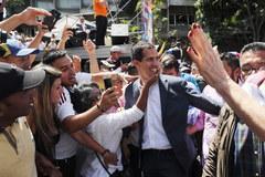 Manifestacja przeciwników Maduro na ulicach Caracas