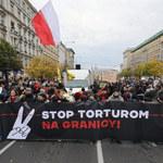"""Manifestacja solidarności z uchodźcami. """"Stop torturom na granicy"""""""