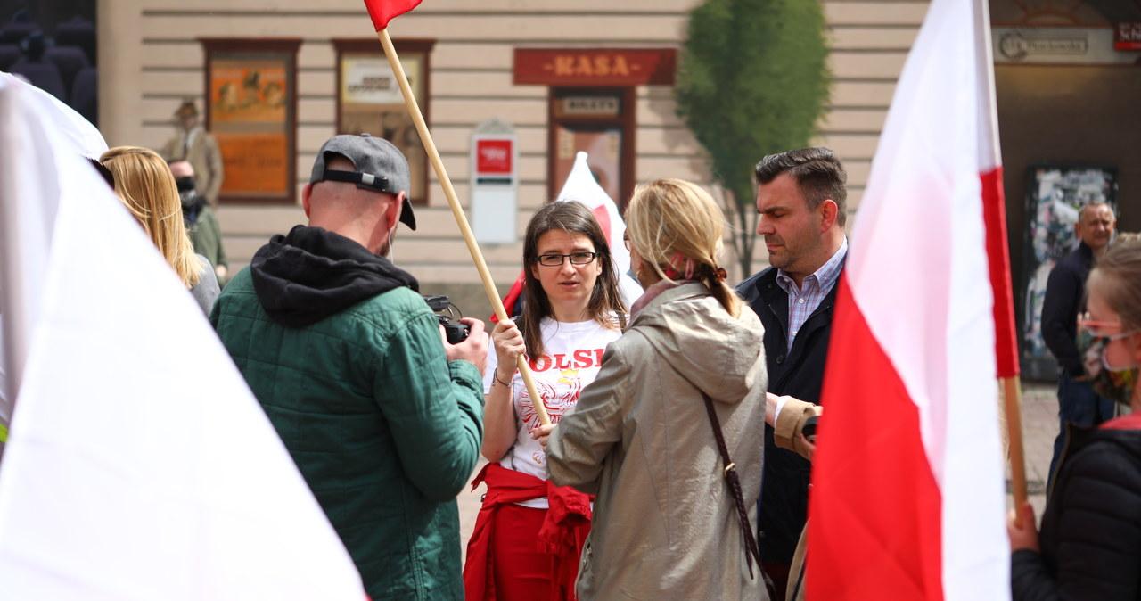 Manifestacja w Łodzi