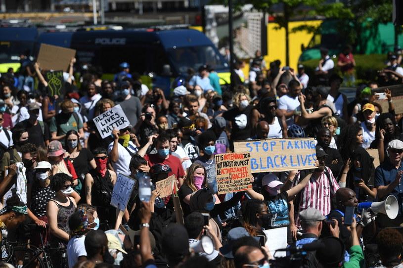 Manifestacja w Londynie /FACUNDO ARRIZABALAGA /EPA