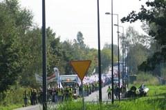 Manifestacja w obronie kopalni Kazimierz-Juliusz