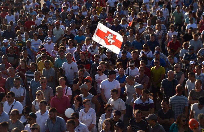 Manifestacje na Białorusi /Sergei GAPON / AFP /AFP