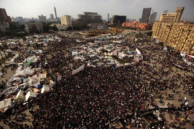 Manifestacje na placu Tahrir /AFP