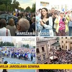 Manifestacje w obronie wolności mediów w prawie 80 miastach