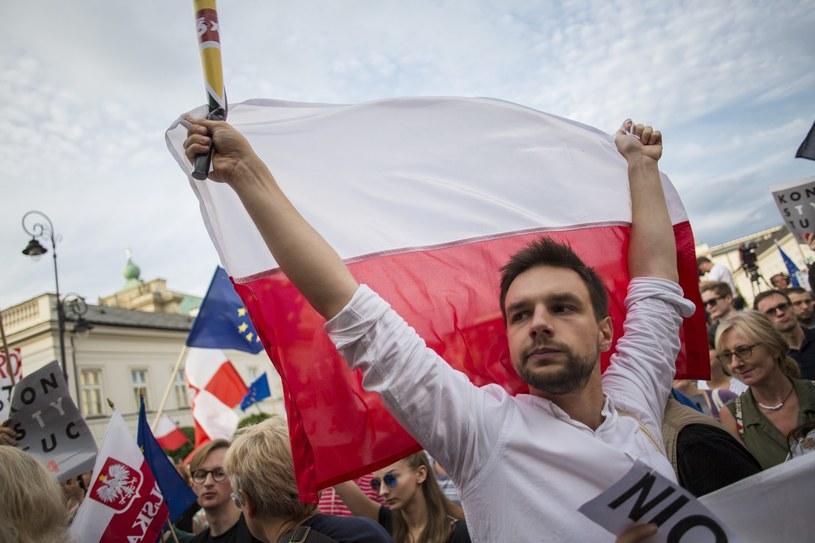 Manifestacje w Warszawie /Andrzej Hulimka  /East News
