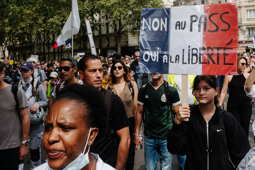 Manifestacje we Francji odbywają się od 11 tygodni /Jan Schmidt-Whitley/Le Pictorium/Le Pictorium/East News /East News