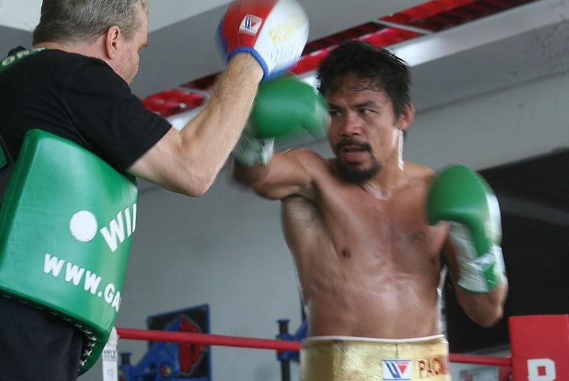 Manny Pacquiao jest gotowy do powrotu na ring /AFP