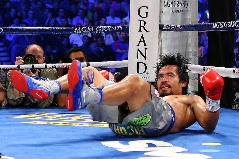 Manny Pacquiao przegrał walkę przez nokaut /AFP
