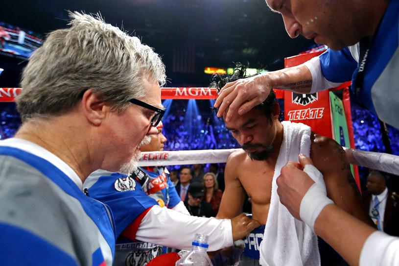 Manny Pacquiao szybko wróci na ring po porażce z Juanem Manuelem Marquezem /AFP