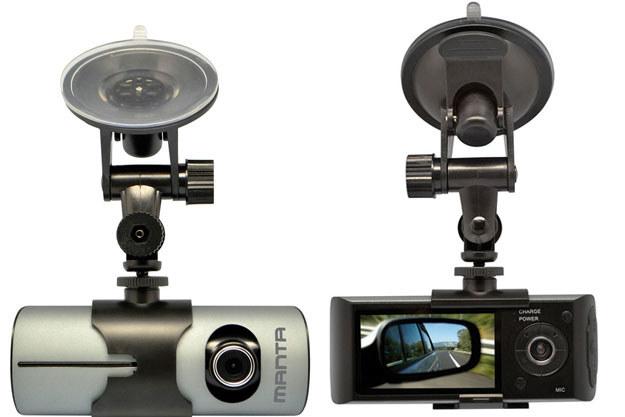Manta Car Black Box Dual GPS MM334 /materiały prasowe