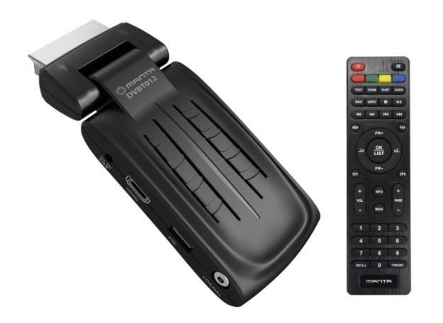 Manta DVB-T 012 SCART /materiały prasowe
