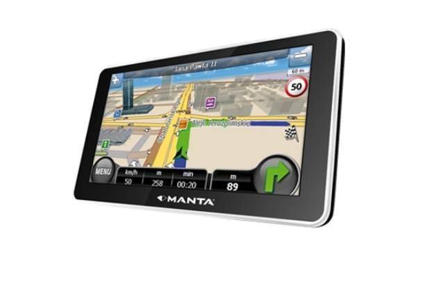 Manta GPS610MST /materiały prasowe