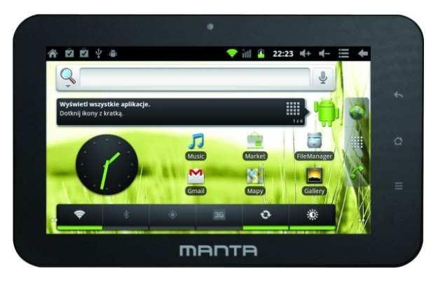 Manta PowerTab MID05 /materiały prasowe