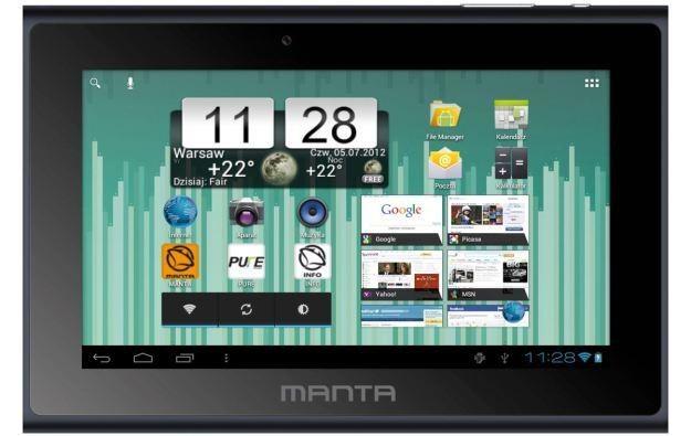 Manta PowerTab MID14 -DVB-T - zdjęcie tabletu /Informacja prasowa