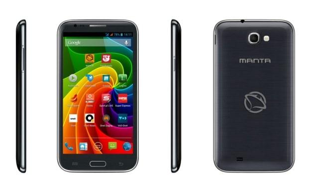 Manta Smartphone Quad Titan MS5801 /materiały prasowe