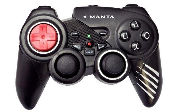 Manta to także akcesoria dla graczy. Na zdjęciu: pad Dual Shock 3 /Informacja prasowa