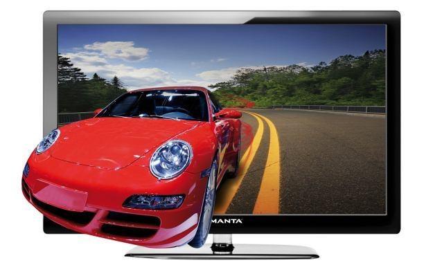 Manta wprowadziła na rynek swoje pierwsze telewizory 3D /Informacja prasowa