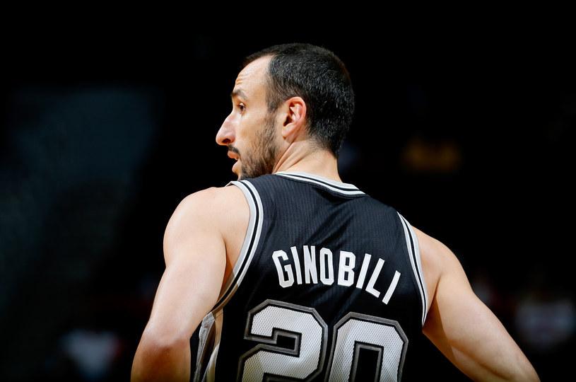 Manu Ginobili z San Antonio Spurs /AFP