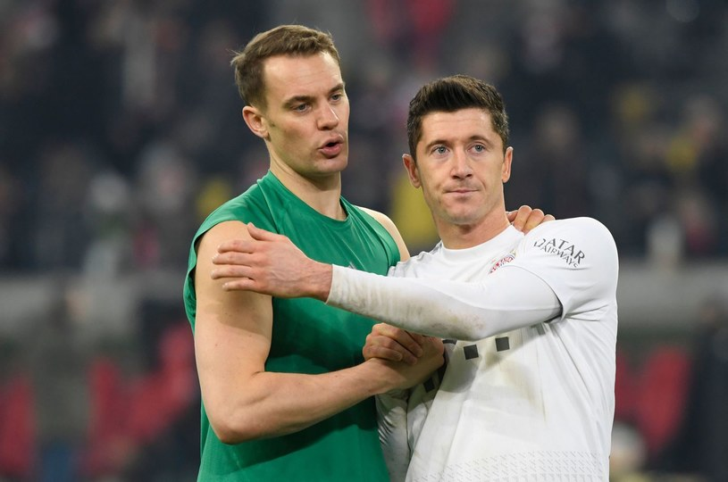 Manuel Neuer i Robert Lewandowski /AFP
