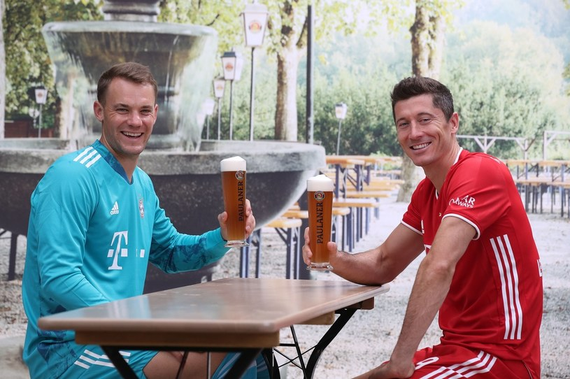 Manuel Neuer i Robert Lewandowski /Alexander Hassenstein /Getty Images