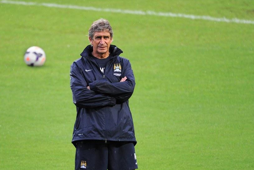 Manuel Pellegrini, menedżer Manchesteru City /AFP