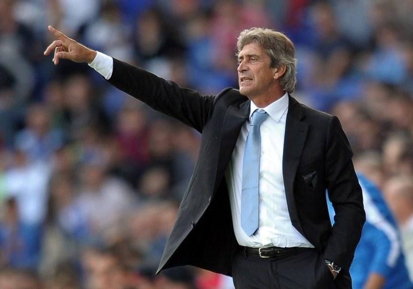 Manuel Pellegrini odchodzi z Malagi /AFP